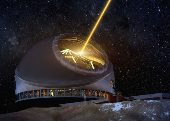 Artist's conception of the Thirty Meter Telescope