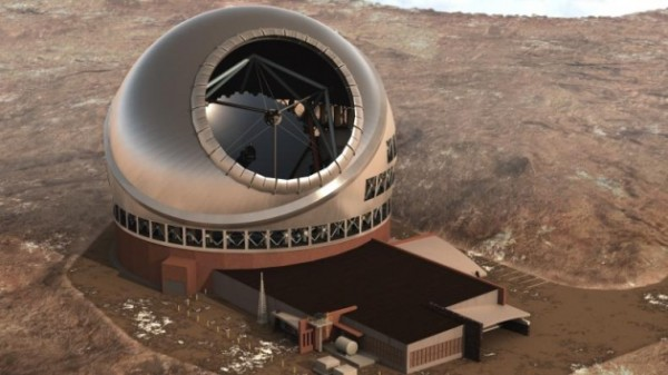 Artist's concept of the Thirty Meter Telescope.