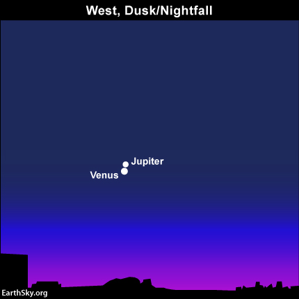 Depending on where you live worldwide, the planets Venus and Jupiter will stage their closest conjunction of the year on June 30 or July 1. Read more