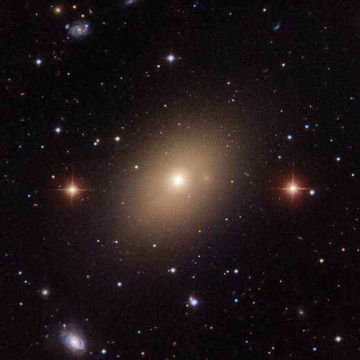NGC 5813 Optical- Image via NASA Chandra Observatory