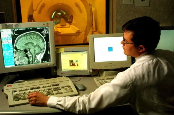 Even looking inside the brain, we can't see thoughts. Photo credit: Duke University Photography Jim Wallace
