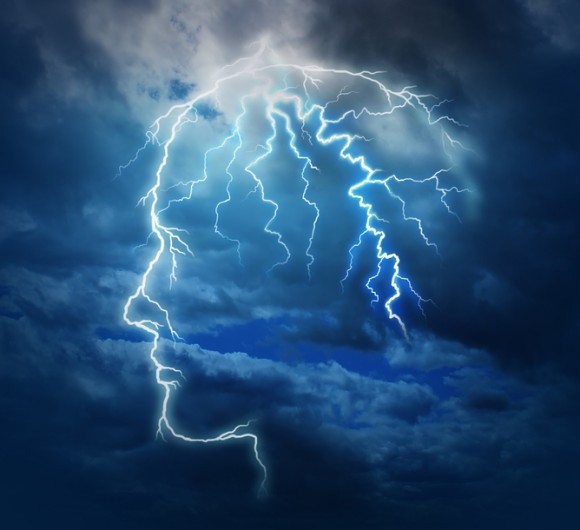 Just how quickly are those thoughts bouncing around in there? Image credit: shutterstock