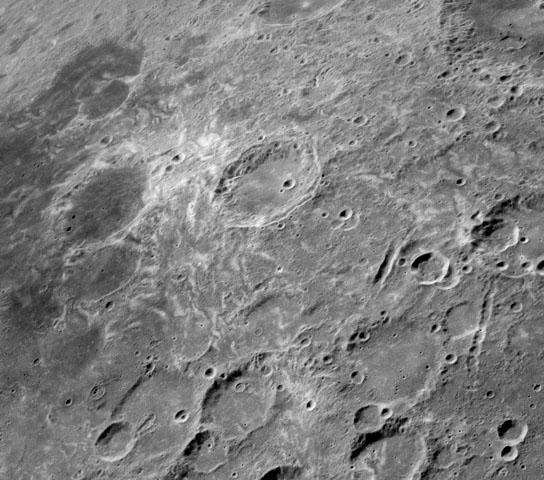 Source of mysterious lunar swirls New research suggests that comet collisions could explain the formation of lunar swirls like these at Mare Marginis on the Moon's far side. Image: NASA/Lunar Reconnaissance Orbiter