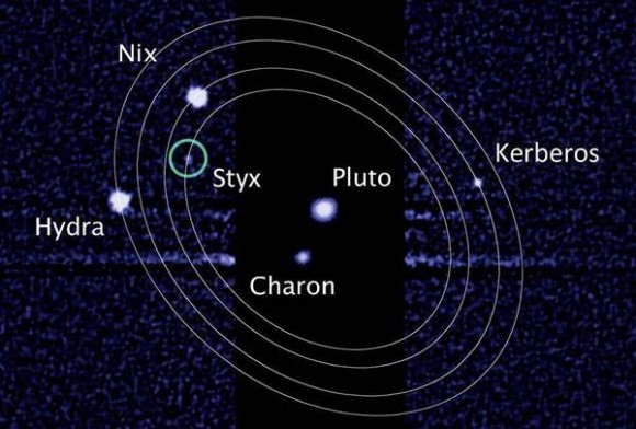 Pluto's moons tumble in chaotic dance | Science Wire ...