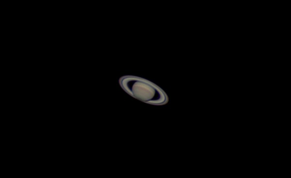 This is an excellent time to see Saturn in the night sky, since Earth recently passed between it and the sun.  Photo taken June 13, 2015 by John Nelson at Puget Sound, Washington.  Thanks, John!  EarthSky planet guide for 2015.