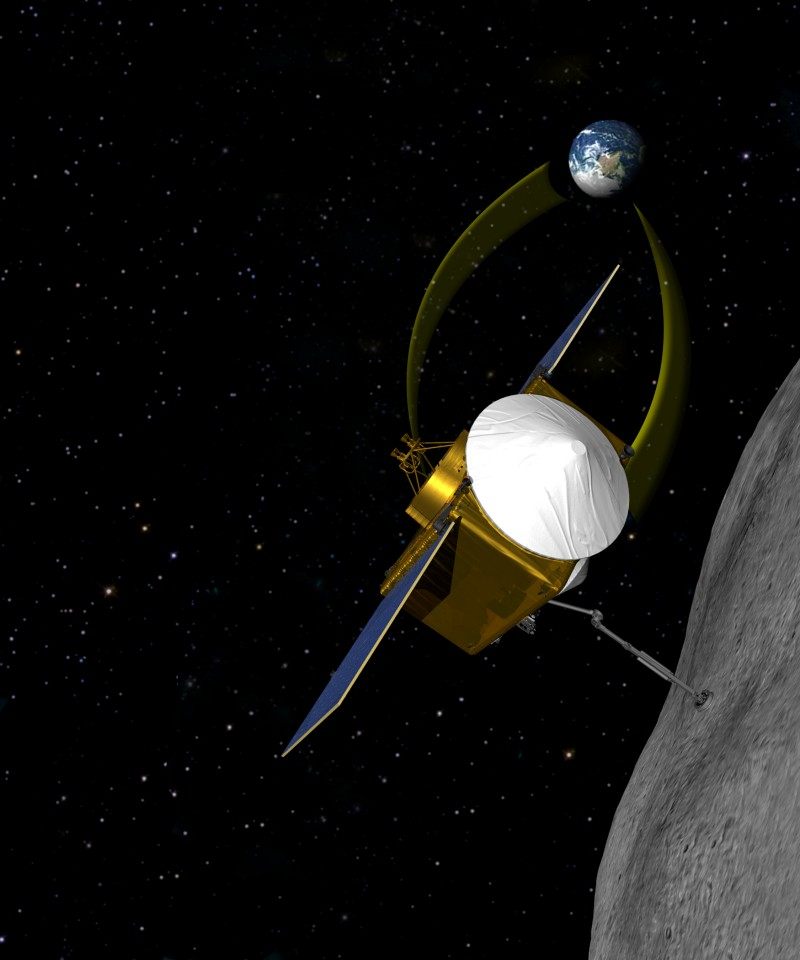 OSIRIS Image Via NASA.gov