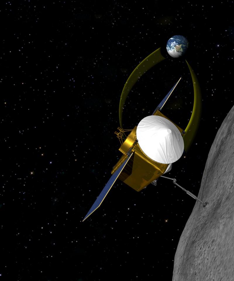 OSIRIS Image Via NASA.gov