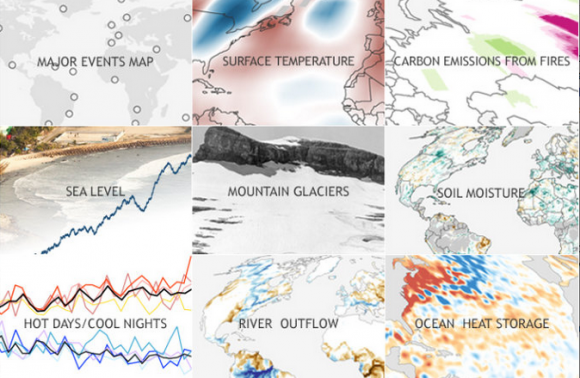For State of the Climate in 2014 maps, images and highlights, visit Climate.gov. Image credit: NOAA