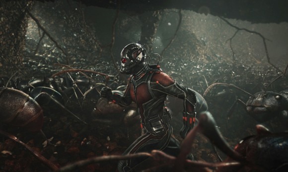 Actor Paul Rudd and friends join forces against evil in Ant-Man. Image credit: © Marvel 2015