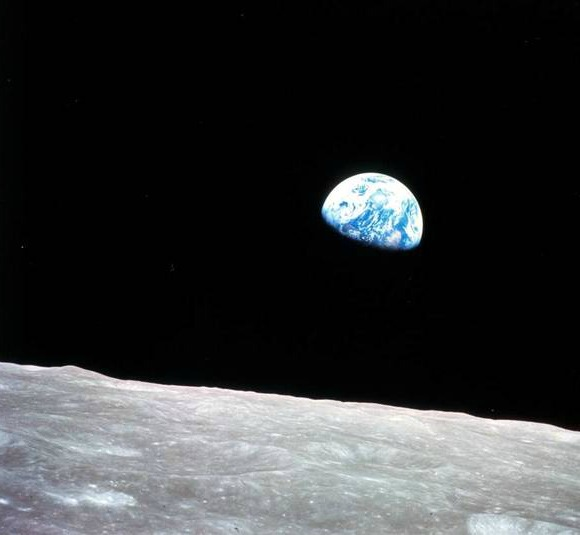 What can what's on the moon tell us about our home planet? Image credit: NASA,