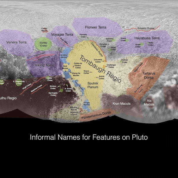 First Maps Of Charon And Pluto