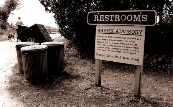 Education and warnings, such as this one in California, can help. Photo credit: Gino Zahnd/flickr