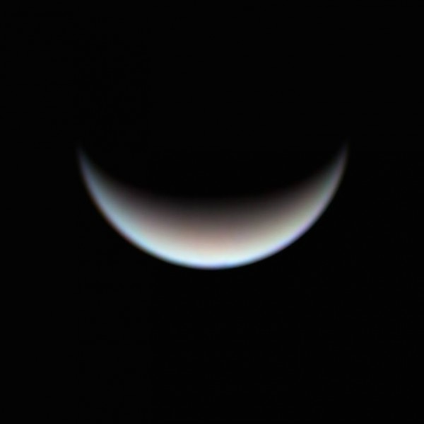Here is another nice telescopic view of planet Venus, as seen on July 5, 2015 from Aguadilla, Puerto Rico by Efraín Morales of Sociedad de Astronomia del Caribe. (12