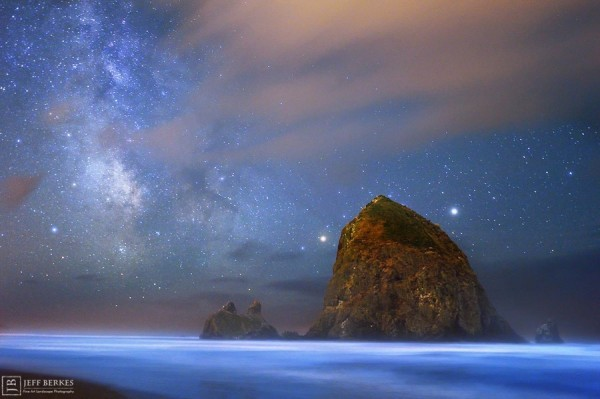 View larger. | Cannon Beach, Oregon by Jeff Berkes Photography.