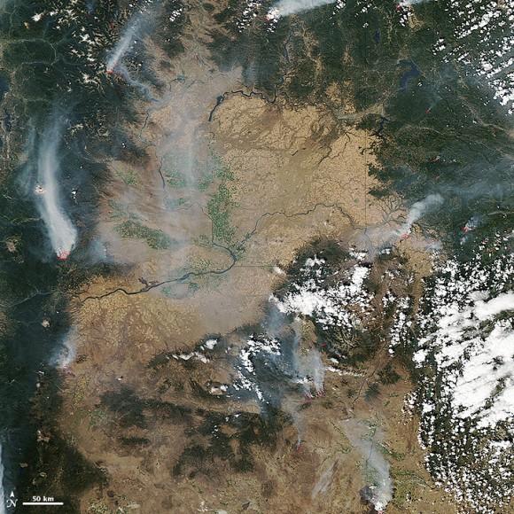 August 13, 2015. Image credit: NASA