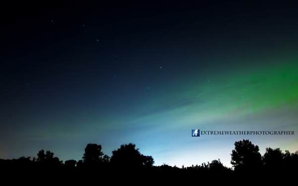 Jeremy Friebel submitted this photo to EarthSky, of an aurora captured last night (September 7).