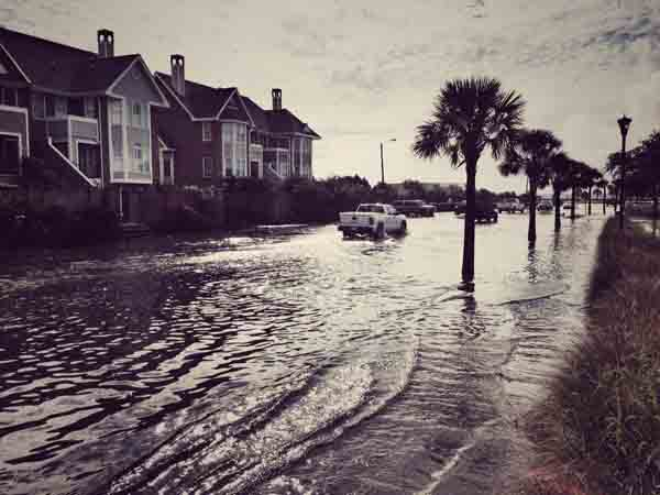 Live5News has a report on flooding in Charleston, South Carolina.