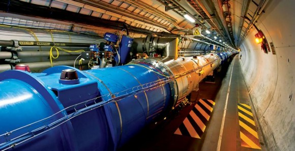 The Large Hadron Collider is the world's largest and most powerful particle accelerator. Image credit: CERN