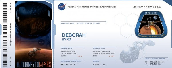 Send Your Name To Mars Deadline Tuesday Science Wire Earthsky