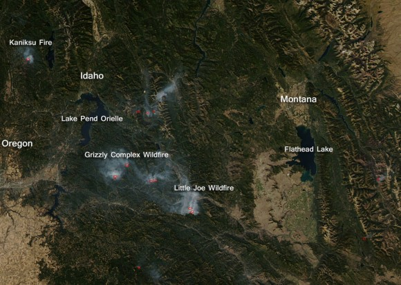 Wildfires continue to plague US West | Earth | EarthSky