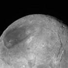 Pluto's moon Charon. Imaged July 14, 2015. Image via NASA / JHU-APL / SWRI. New Horizons spacecraft.