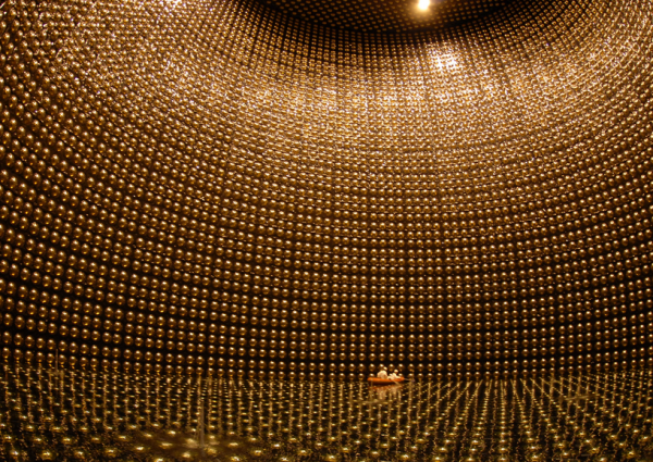 Neutrinos, we're looking for you! Japan's Super-Kamiokande detector. Kamioka Observatory, ICRR (Institute for Cosmic Ray Research), The University of Tokyo