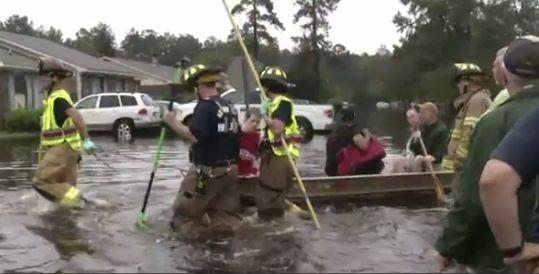 South Carolina, October, 2015.  Video still via BBC.