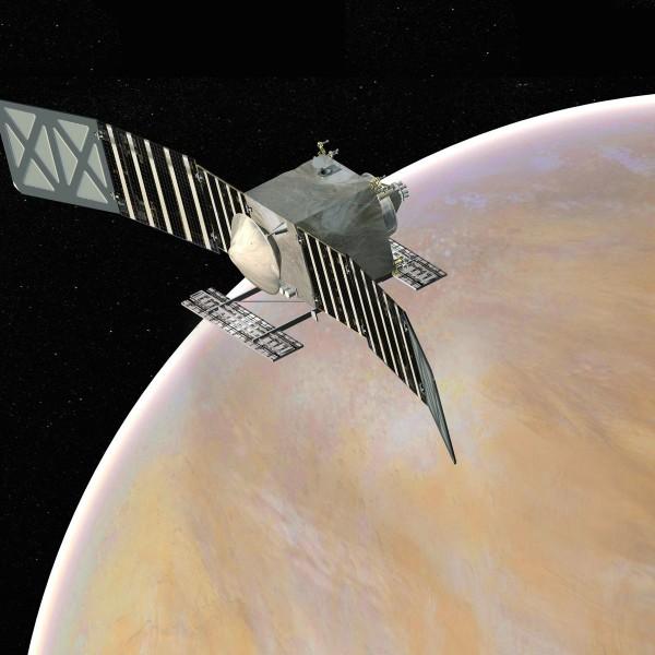 Artist's concept of the VERITAS mission, via NASA JPL