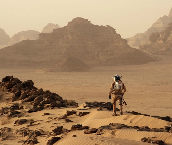 Unlike science fiction films featuring grotesque aliens and faraway galaxies, Ridley Scott's The Martian depicts a sci-fi space mission that could soon be science fact.  Image credit: 20th Century Fox