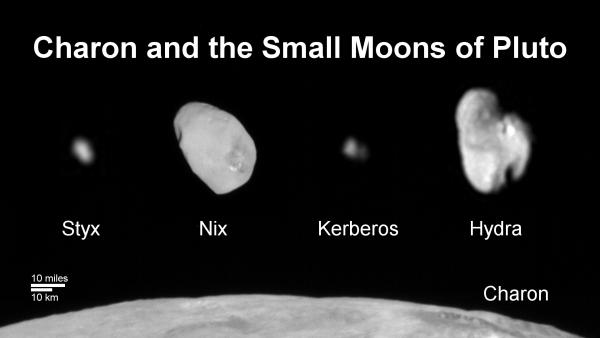 Kerberos Moon Of Plluto: New Horizons Completes Pluto Family Portrait