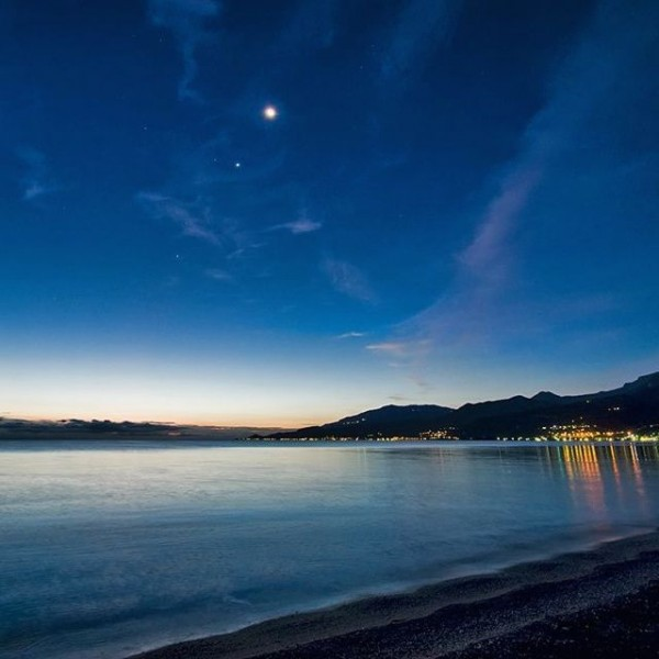 Moon, Venus and more on October 8, 2015 from Nikolaos Pantazis in Greece.