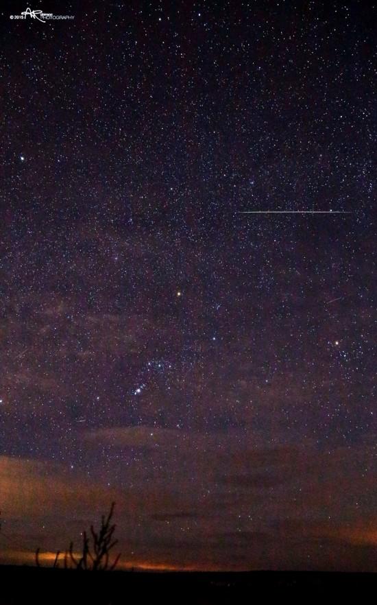 Aaron Robinson in Idaho Falls, Idaho captured this photo on November 15, 2015.  He wrote: