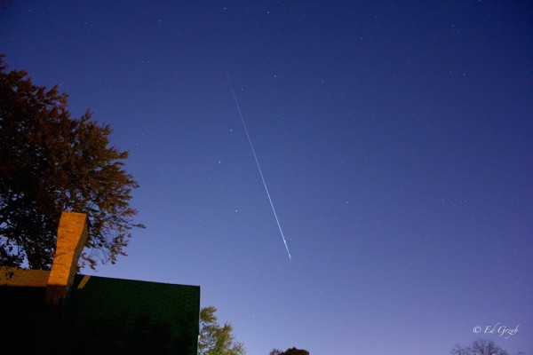 Ed Grzyb caught this Taurid fireball from Boston on the morning of November 3.