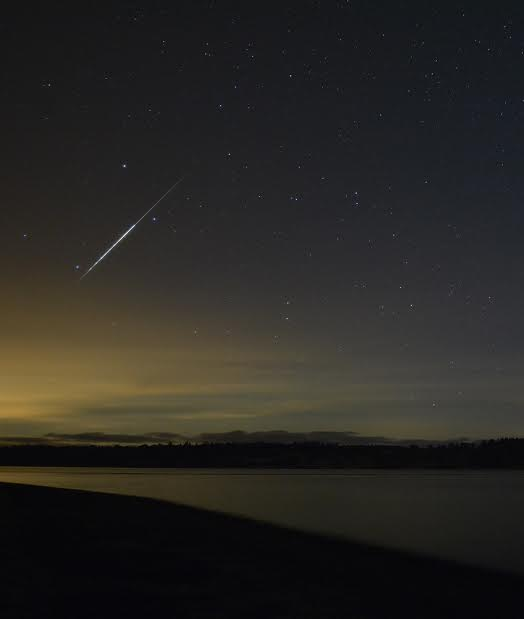 Taurid fireball caught on the morning of November 4, 2015 by James Younger on Vancouver Island.