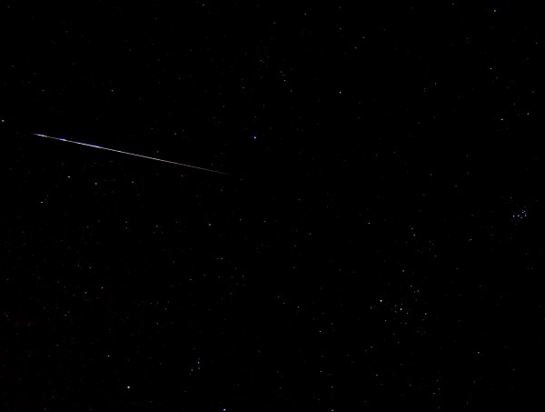 Taurid fireball seen on November 9, 2015 by Steve Shubert in St. Louis, Missouri.