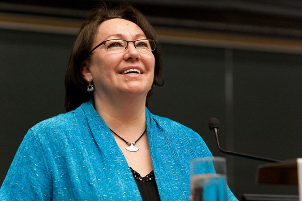 Sheila Watt-Cloutier. Photo credit:     TheSilentPhotographer/wikipedia