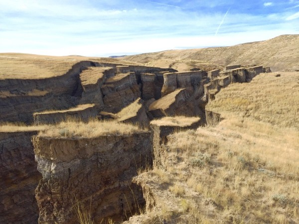 The Crack in Wyoming. Photo by Randy Becker of Casper.