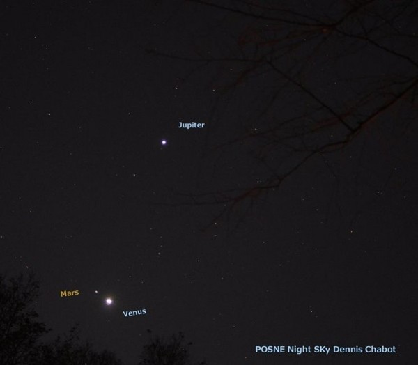 Planets on November 3, 2015 by Dennis Chabot.
