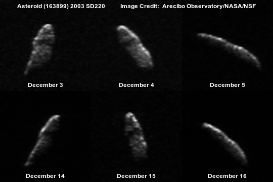 Asteroid 2003 SD220.