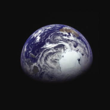 Hayabusa 2 acquired this lovely image of Earth on December 4, 2015 (Japan Standard Time), about 340,000 km from the center of the Earth. You can see the Australian continent on the upper right, and Antarctica on the lower right.  Image via JAXA.