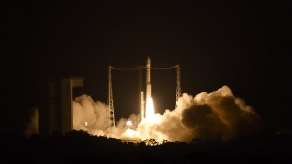 LISA Pathfinder lifts off, December 3, 2015.