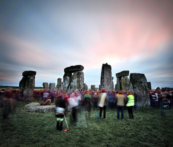 Stonehenge December 21, 2008. Image credit: Brent Pearson