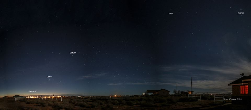 planets in sky az - photo #3