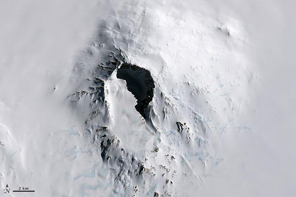 Mount Sidley, Antarctica. Image Credit: Jesse Allen, NASA Earth Observatory.