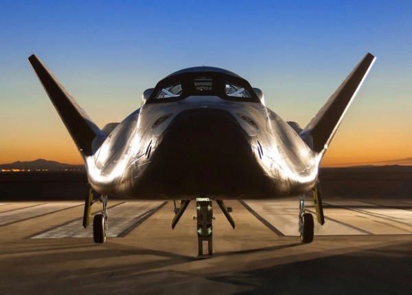 Dream Chaser. As early as 2019, it'll become the first winged vehicle to fly into orbit since NASA retired the space shuttles in 2011. Image via NASA / SNC Space Systems.