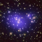 View larger. | This image from NASA's Hubble Space Telescope shows the inner region of Abell 1689, an immense cluster of galaxies. Scientists say the galaxy clusters we see today have resulted from fluctuations in the density of matter in the early universe. Image via NASA/ESA/JPL-Caltech/Yale/CNRS