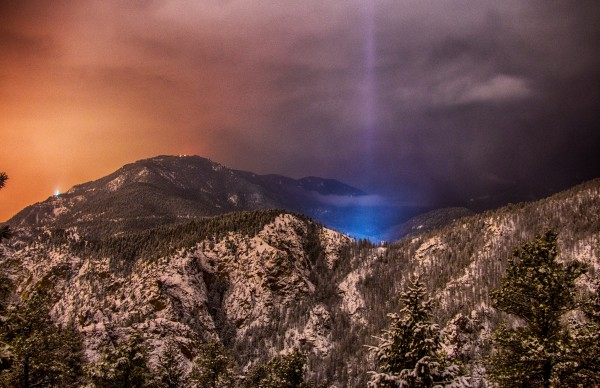 View larger. | Photo by Joe Randall of Colorado Springs, Colorado.