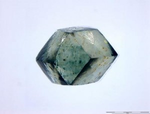 One of the Witwatersrand diamonds. Image credit: Wits University.