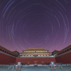 Star trails over the Forbidden City, by Jeff Dai