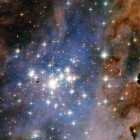 This NASA/ESA Hubble Space Telescope image features the star cluster Trumpler 14. One of the largest gatherings of hot, massive and bright stars in the Milky Way, this cluster houses some of the most luminous stars in our entire galaxy. Image via NASA & ESA, Jesús Maíz Apellániz (Instituto de Astrofisica de Andalusia).